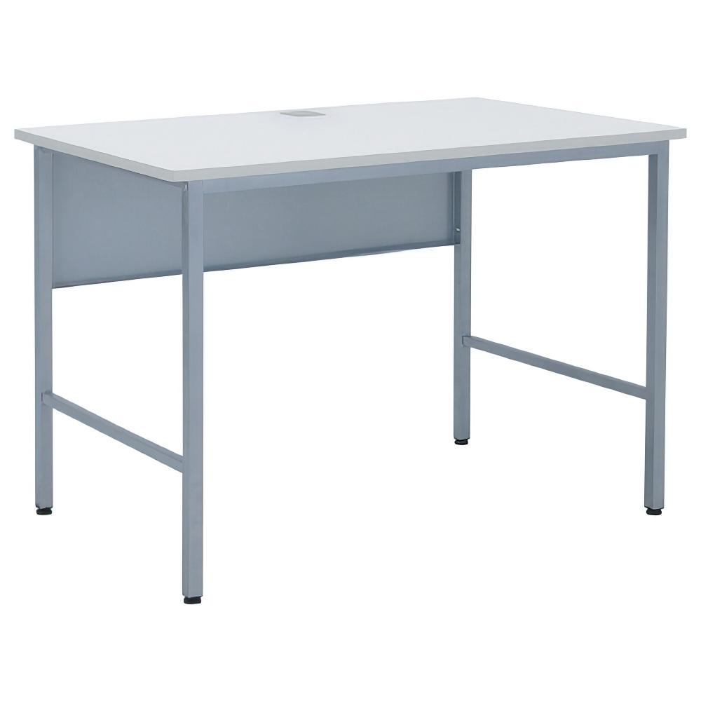 スマートワークデスク W1000×D600×H700mm ワークテーブル ホワイト ワーキングデスク スチール オフィス家具