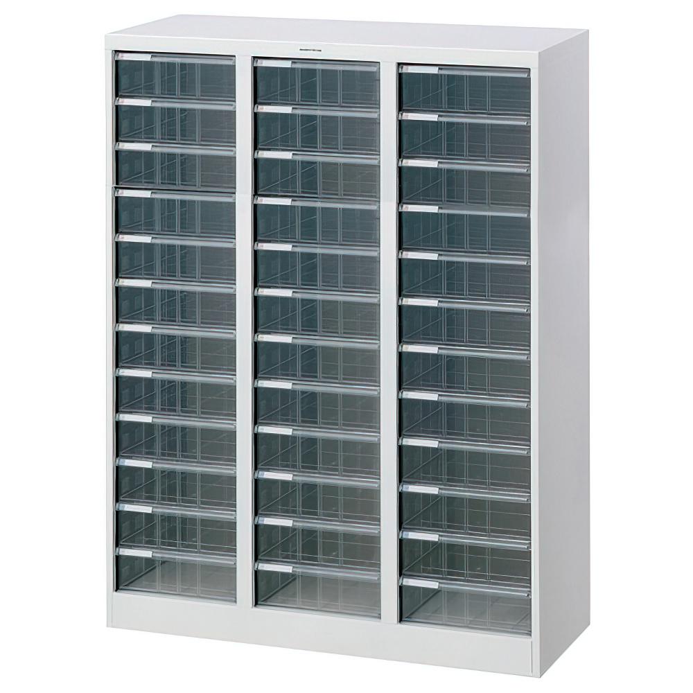 A4フロアケース 深12段 3 W831 D336 H1100 ホワイト 収納家具 書類整理庫 複数列フロアケース オフィスワゴン 多目的ワゴン オフィス ポリプロピレン シール パ