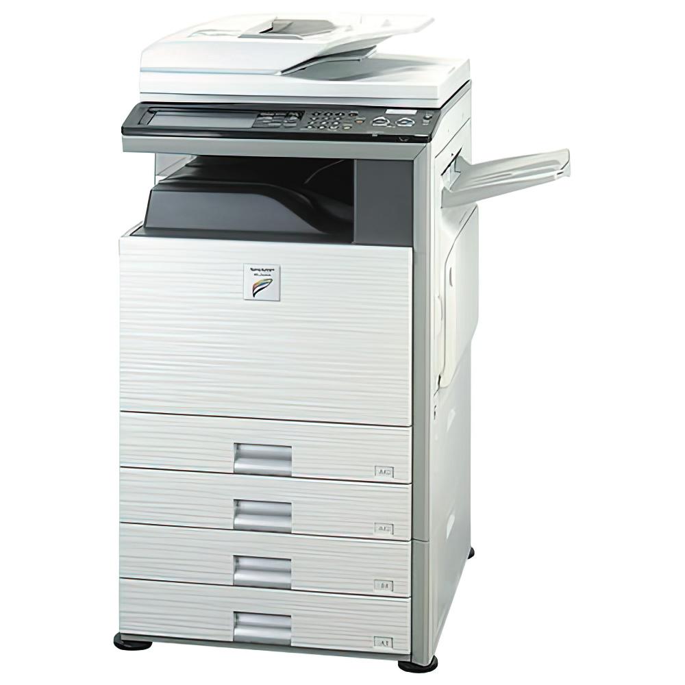 SHARP カラー複合機 MX-2301FN 中古 シャープ  フルカラー コピー ファクス LAN対応 ネットワーク対応