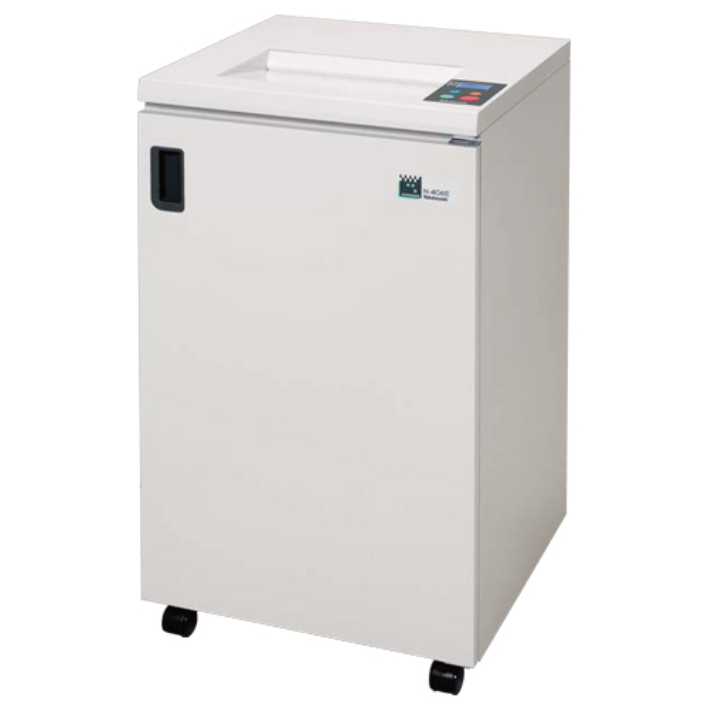 オフィス用ナカバヤシ オフィスシュレッダー N-406E W500 D500 H900