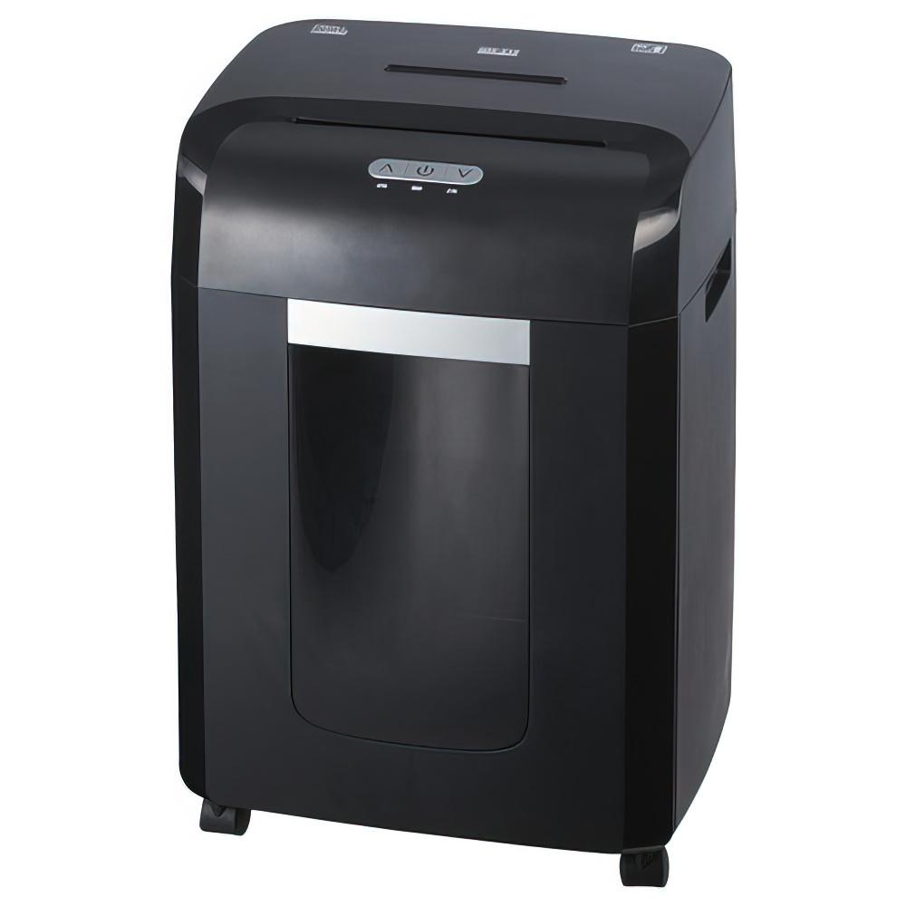オフィス用ナカバヤシ パーソナルシュレッダー NSE-515BK W368 D283 H572  ブラック