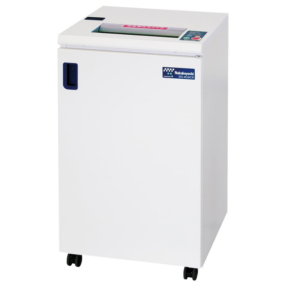 オフィス用ナカバヤシ オフィスシュレッダー SXI-406CR W500 D500 H900