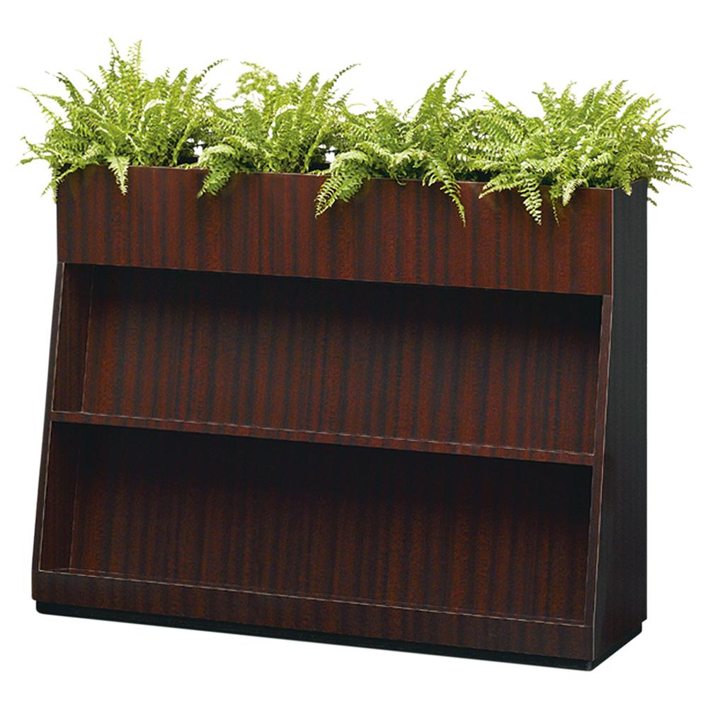 BS型フラワーボックス W1200×D350×H900mm フラワースタンド 人工植物 オフィスアクセサリー 人工樹木 オフィス用品 オフィス家具