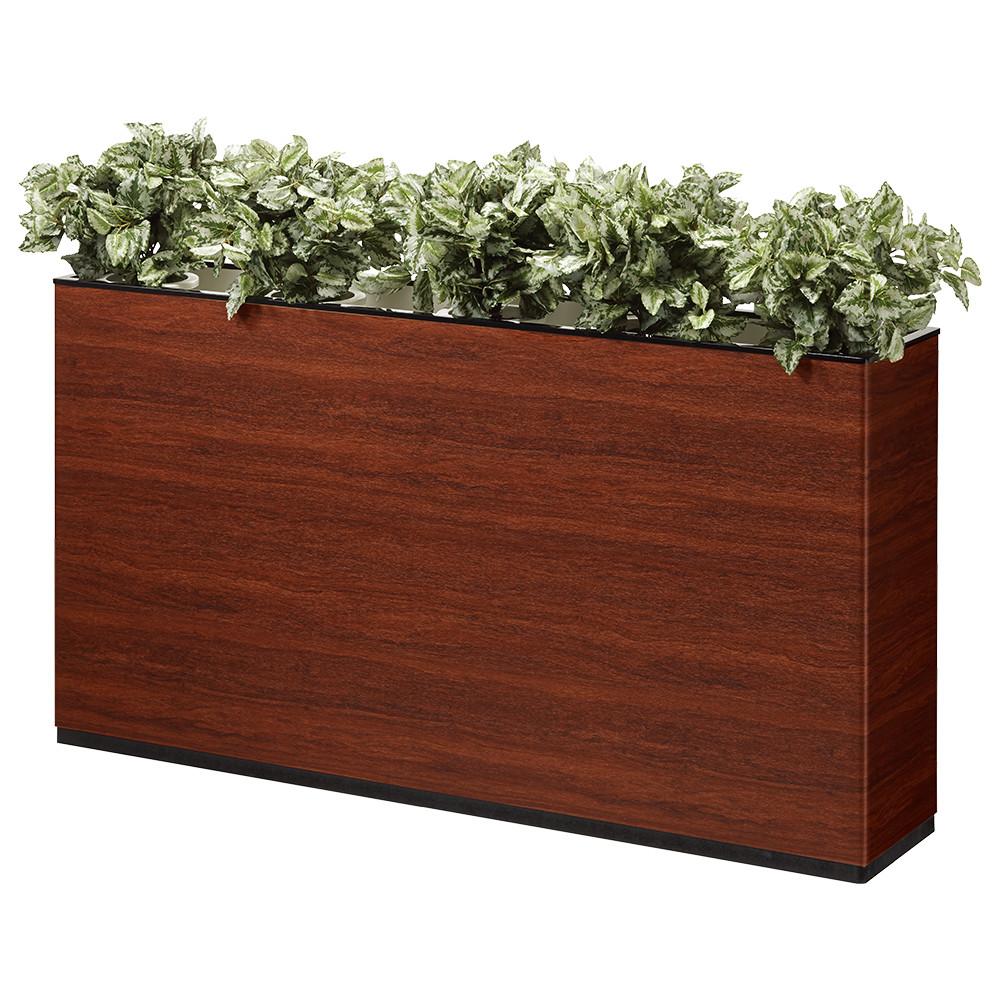 I型フラワーボックス W1500×D300×H800mm フラワースタンド 人工植物 オフィスアクセサリー 人工樹木 オフィス用品 オフィス家具