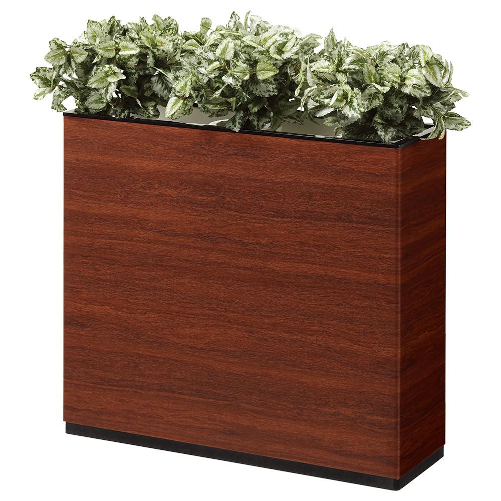 I型フラワーボックス W900×D300×H800mm フラワースタンド 人工植物 オフィスアクセサリー 人工樹木 オフィス用品 オフィス家具
