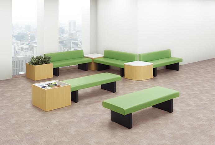 コーナーテーブル LSシリーズ設置例
