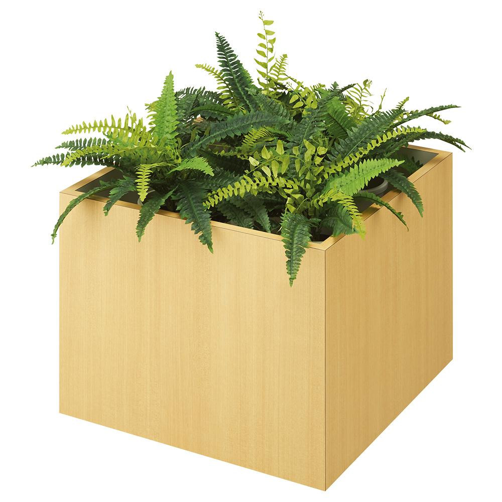 フラワーボックス LSシリーズ W600 D600 H450 その他木目 オフィスアクセサリー オフィスグリーン フラワーボックス ガーデン用品 ガーデン機器 ガーデニング フ