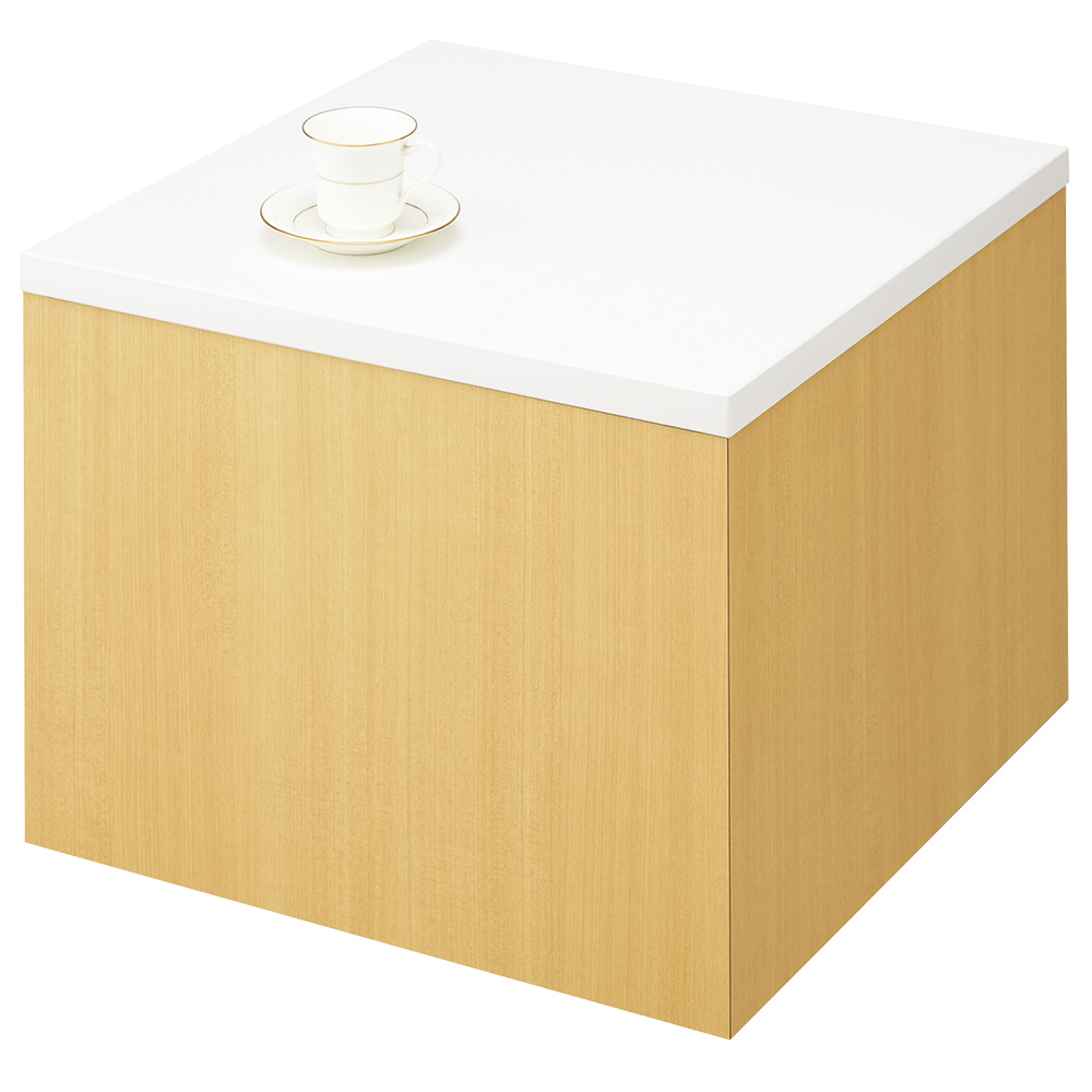 サイドテーブル LSシリーズ W600 D600 H450 その他木目 オフィスアクセサリー オフィスグリーン フラワーボックス ガーデン用品 ガーデン機器 ガーデニング フラ