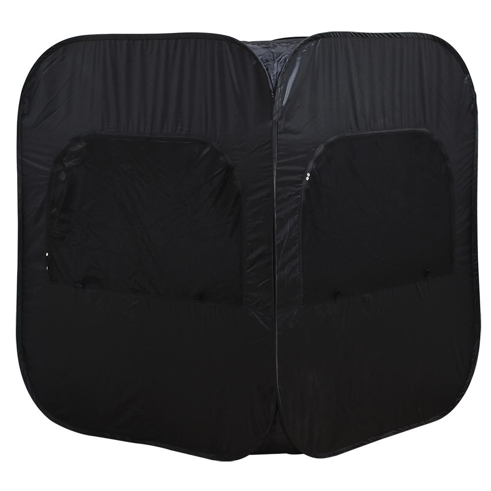 オフィス用プライバシー個室テント W1300 D1300 H1500) ブラック