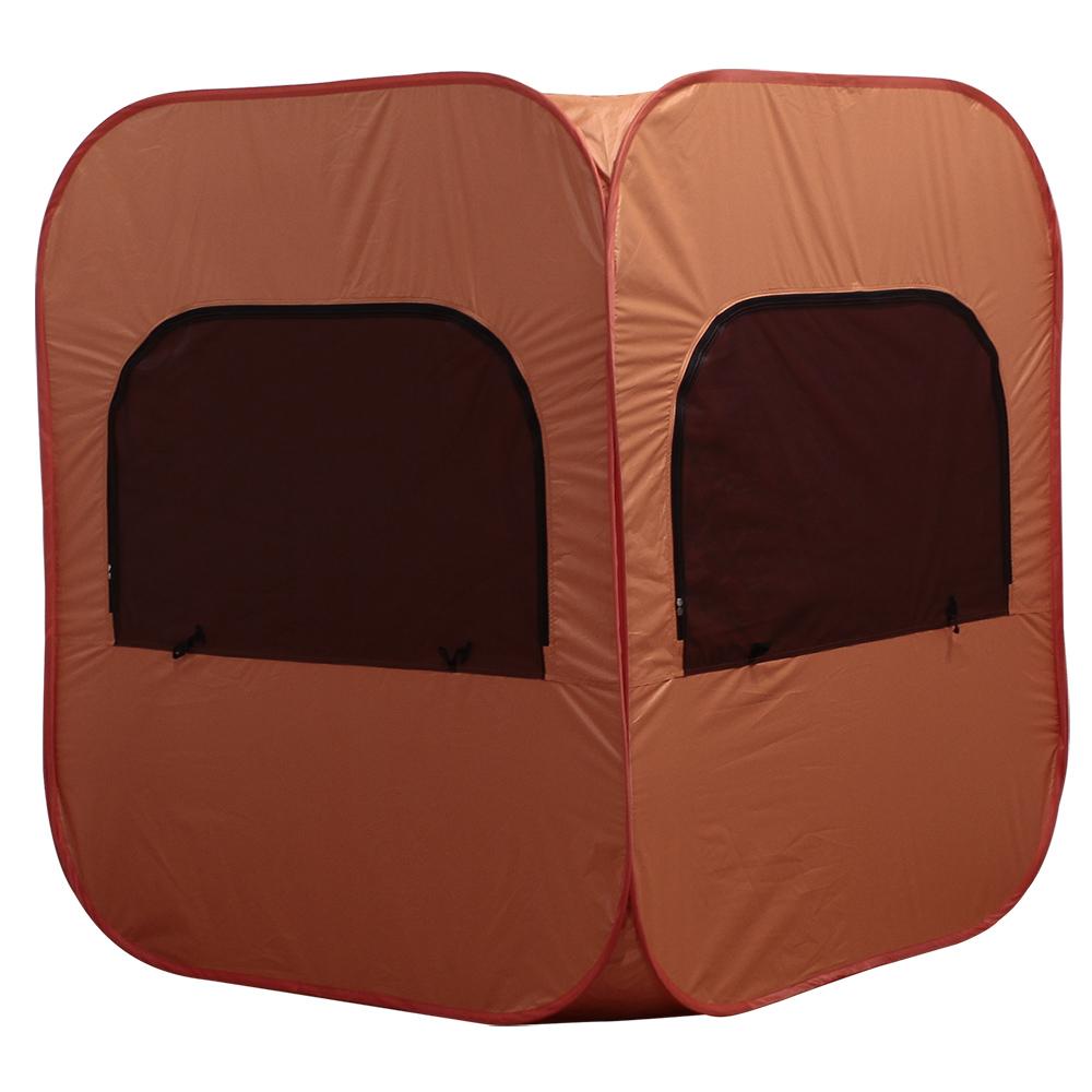 オフィス用プライバシー個室テント W1300 D1300 H1500) オレンジ