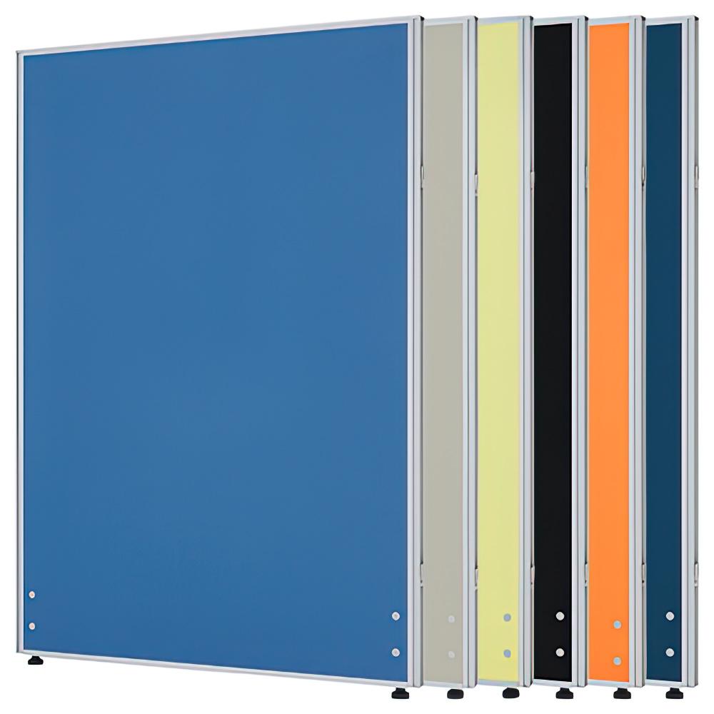 ローパーテーション H1200×W800mm パーティション 間仕切り オレンジ パーテーション クロス貼り オフィス家具