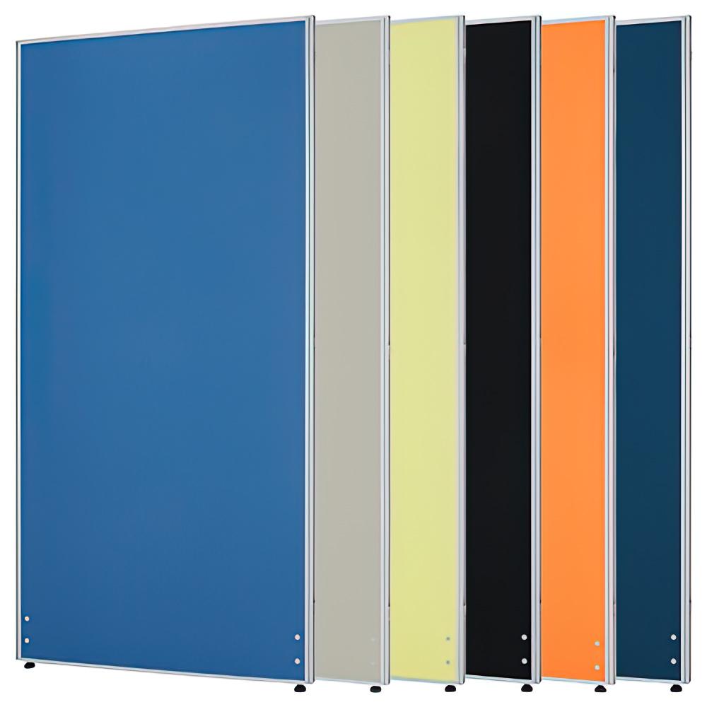 ローパーテーション H1800×W900mm パーティション 間仕切り ブルー パーテーション クロス貼り オフィス家具