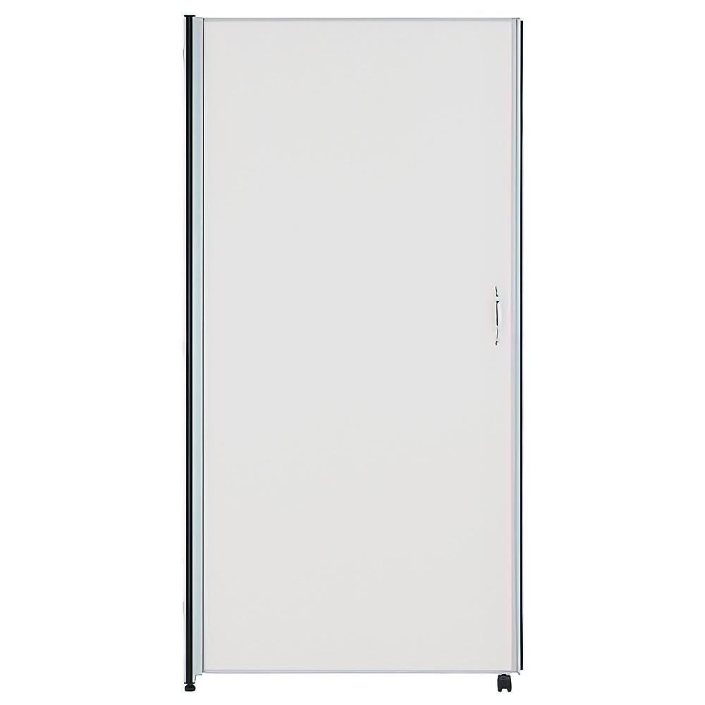 ホワイトドアパネル H1800×W900mm パーティション 間仕切り 左開き用 パーテーション オフィス メラミン オフィス家具