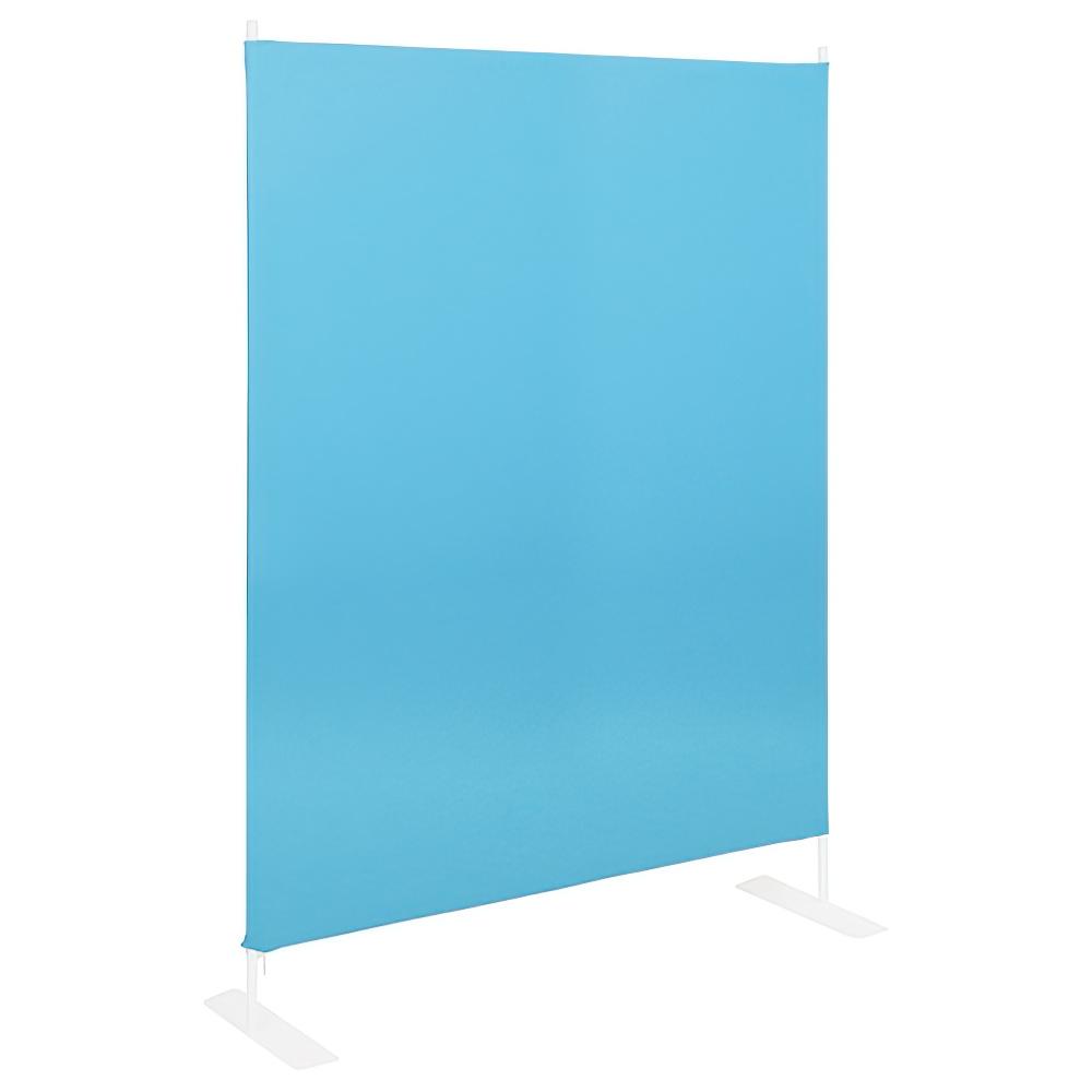 連結スクリーンパーテーション 基本型 W1200×D350×H1600mm ブルー クロススクリーン 衝立 パネル オフィス家具