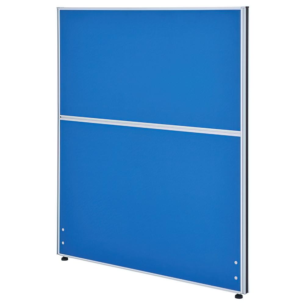 クロス型システムパーテーション H1200×W1000mm パーティション 間仕切り ブルー パーテーション クロス貼り オフィス家具