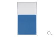 ブルー(PPN0916:クロス上部半透明ローパーテーション)