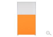 オレンジ(PPN0918:クロス上部半透明ローパーテーション)