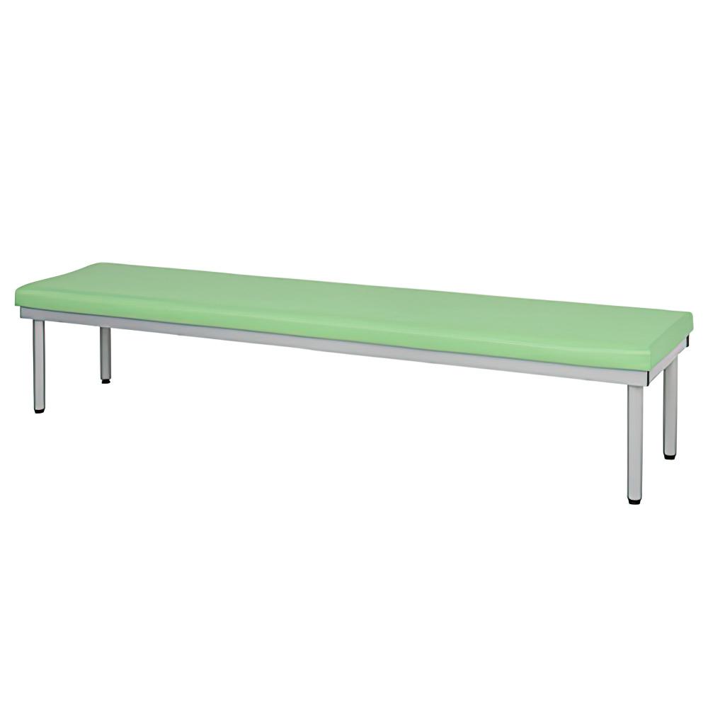スタンダードベンチ W1800×D450×H400mm グリーン 介護家具 福祉家具高齢者向け ベンチ 椅子