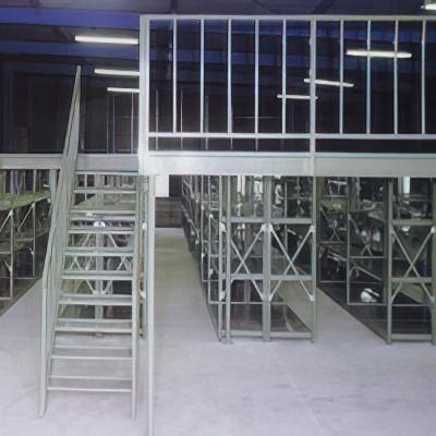 商品説明画像(3MS6690-5:5段中量スチールラック)