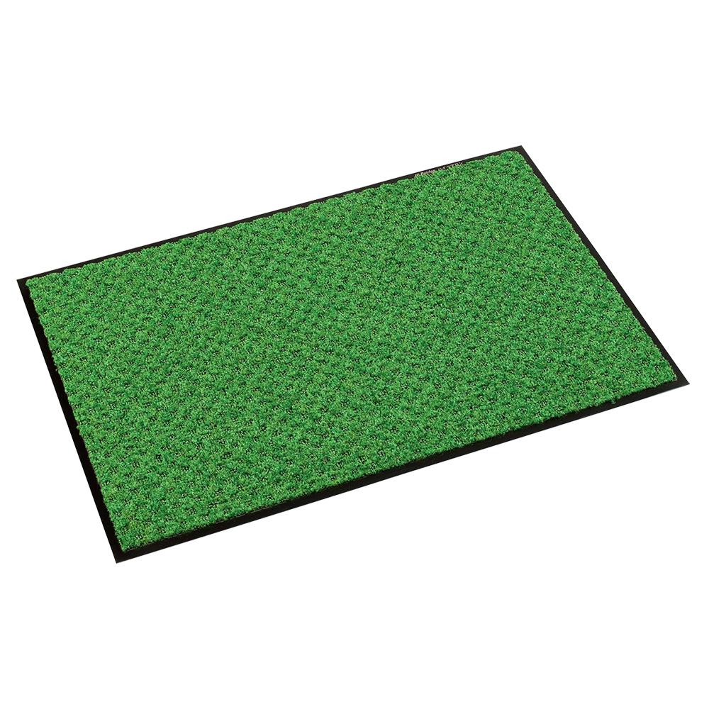 オフィス用ハイペアロン 除塵マット W750 D450 H9.5 グリーン オフィスアクセサリー アクセサリー アクセサリー