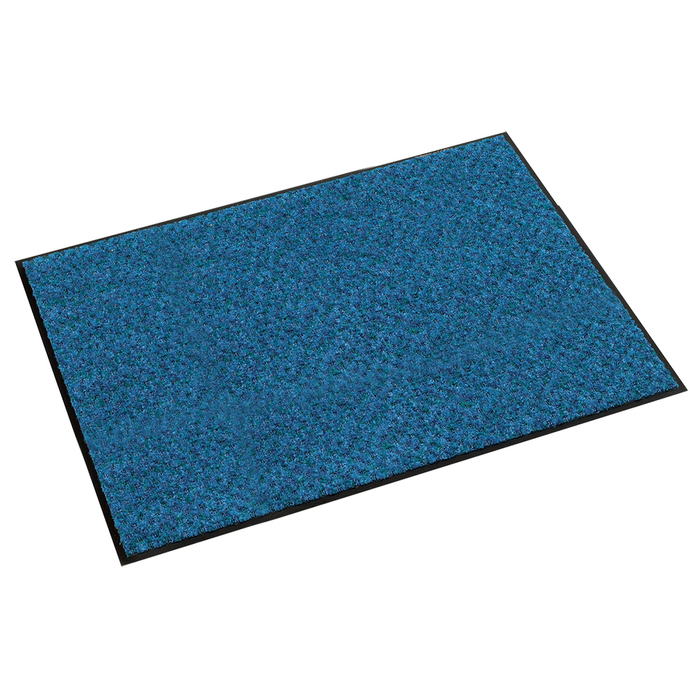 オフィス用ハイペアロン 除塵マット W900 D600 H9.5  ブルー