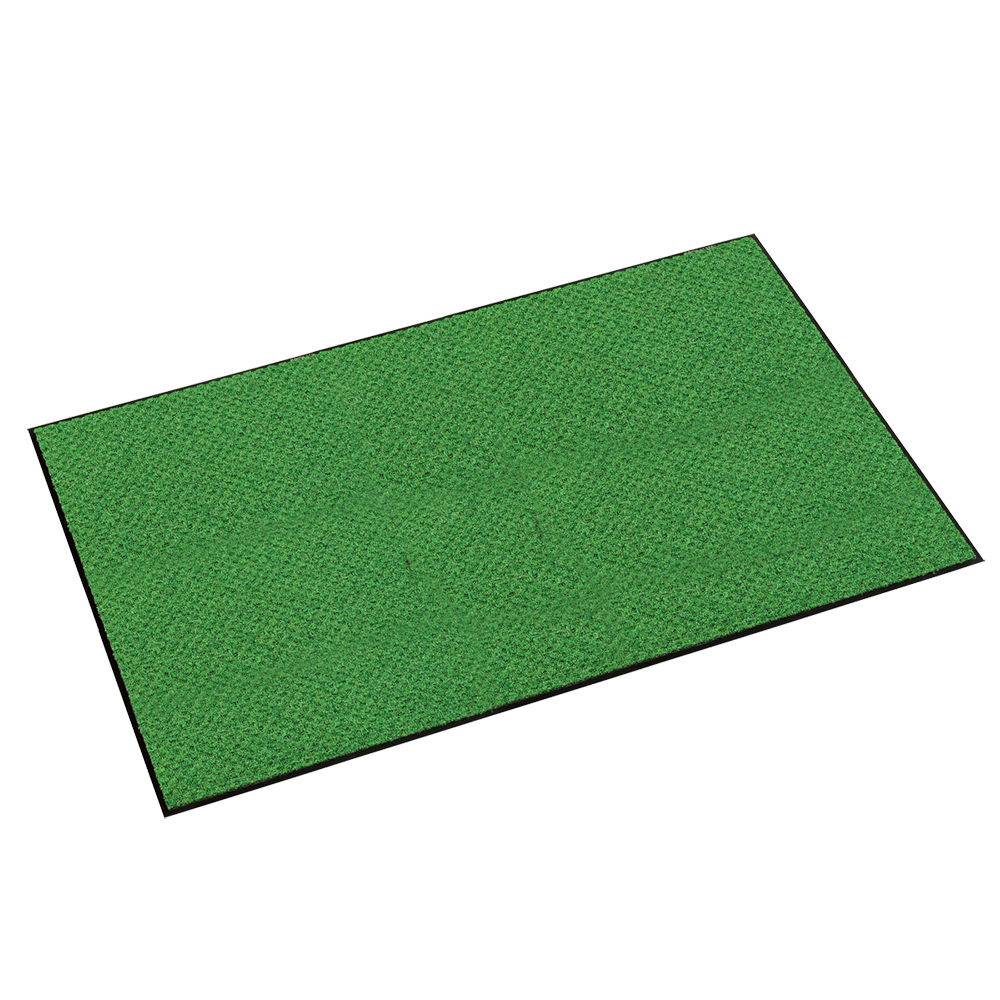 オフィス用ハイペアロン 除塵マット W1500 D900 H9.5  グリーン