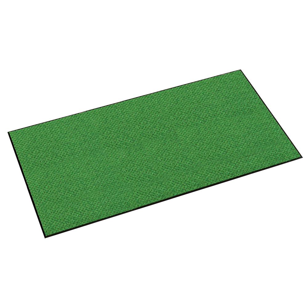 オフィス用ハイペアロン 除塵マット W1800 D900 H9.5  グリーン