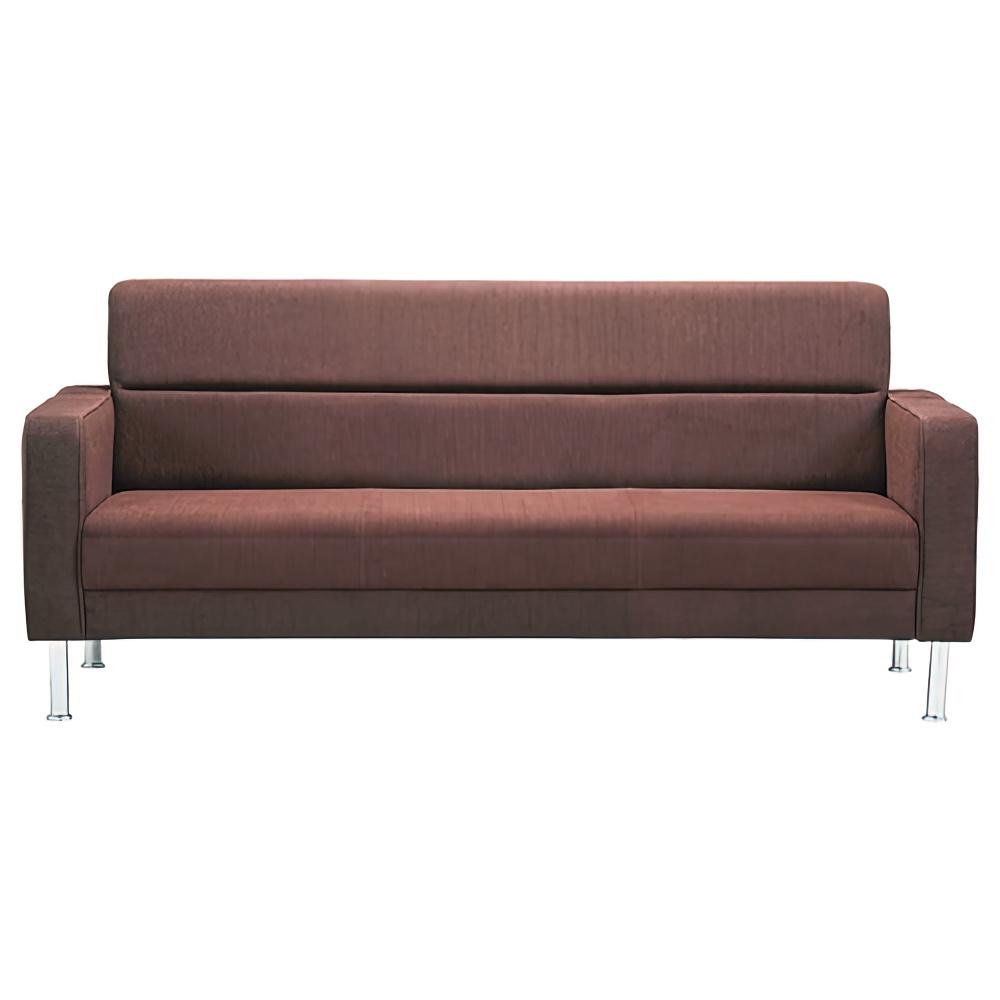 プレッグ ソファー ファブリック W1730×D780×H790mm ダークブラウン 布張り 応接家具 レセプション オフィス家具