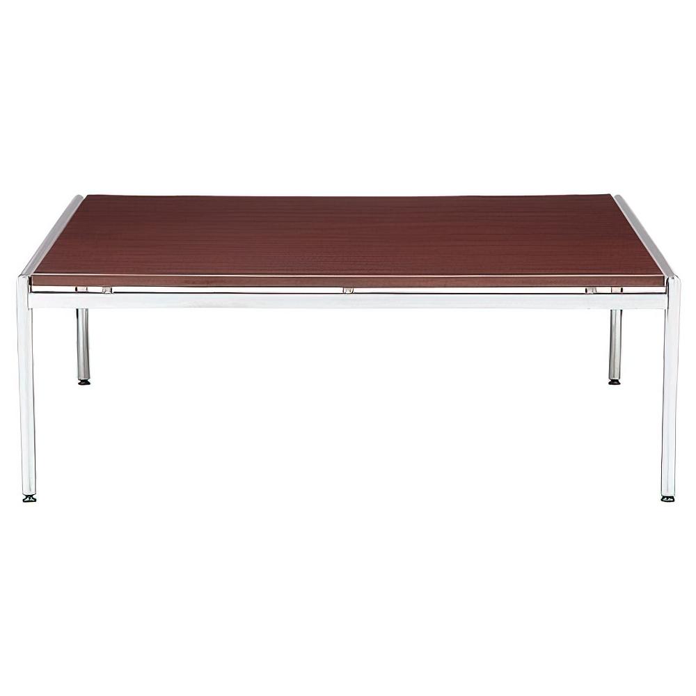 センターテーブル CTシリーズ W1265×D1200×H450mm マホガニー 応接家具 レセプション オフィス家具