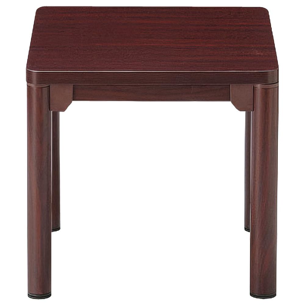 コーナーテーブル CTRシリーズ W450×D450×H450mm マホガニー 応接家具 レセプション オフィス家具
