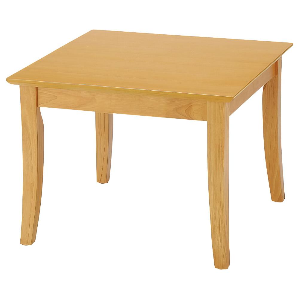 オフィス用センターテーブル UFTシリーズ W600 D600 H450  ナチュラル