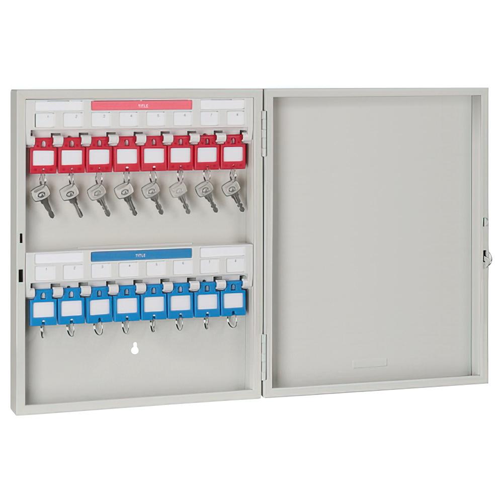 キーステーション16個収容 KSタイプ W280×D55×H350mm キーボックス 鍵保管庫 鍵保管棚 オフィス収納 オフィス家具