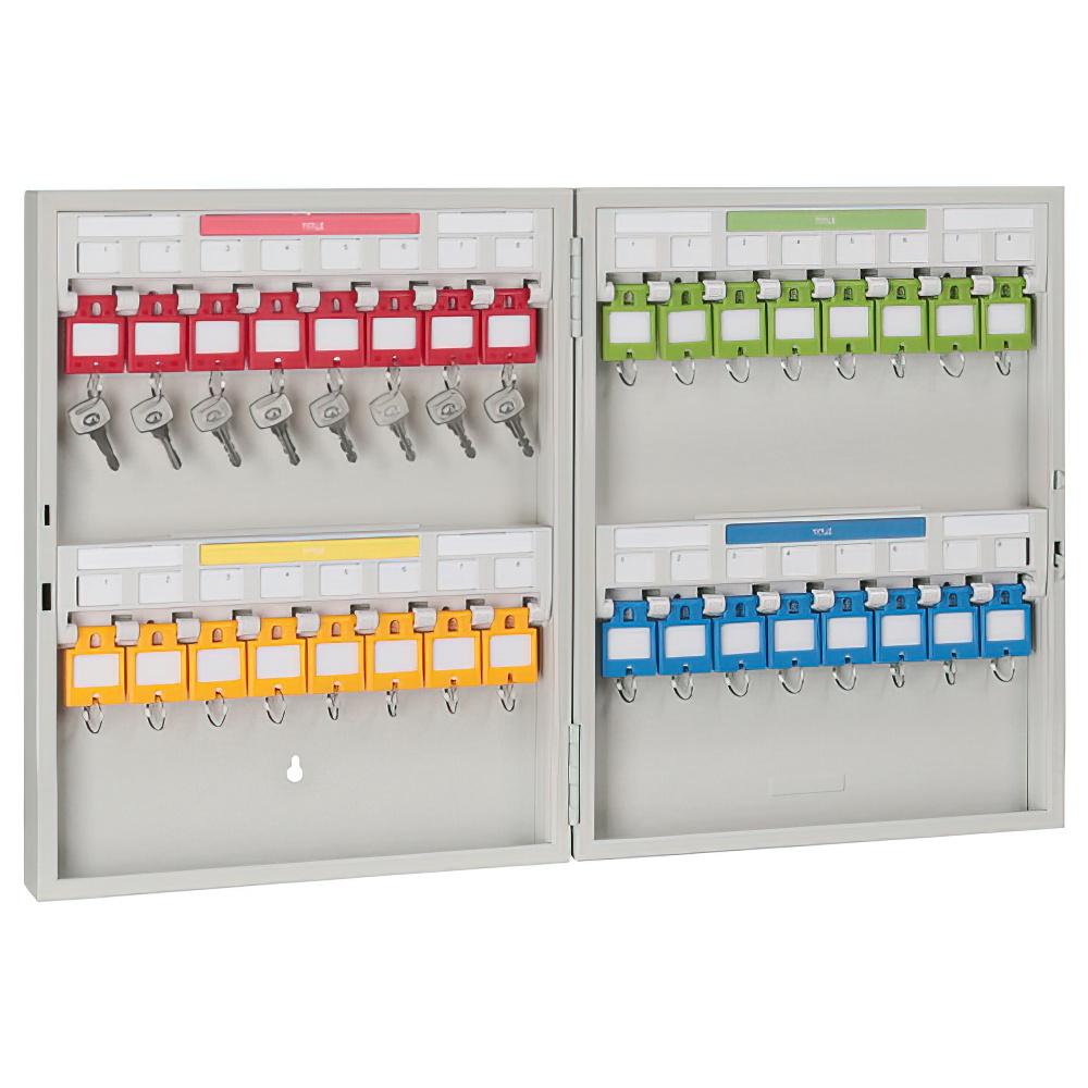 キーステーション32個収容 KSタイプ W280×D55×H350mm キーボックス 鍵保管庫 鍵保管棚 オフィス収納 オフィス家具