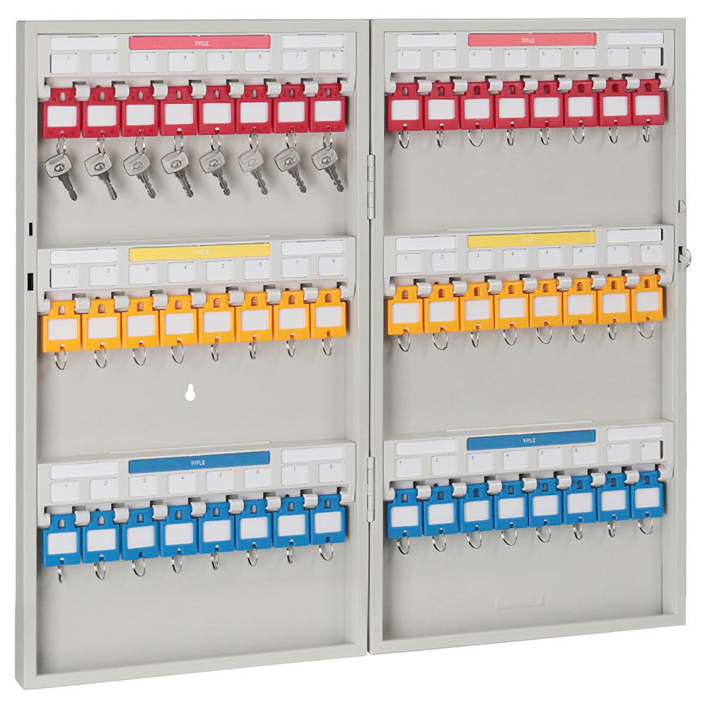 キーステーション48個収容 KSタイプ W280×D55×H515mm キーボックス 鍵保管庫 鍵保管棚 オフィス収納 オフィス家具