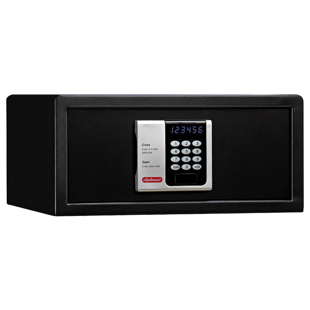 オフィス用デジタルテンキー式 ホテル用金庫 24L W435 D365 H200  ブラック