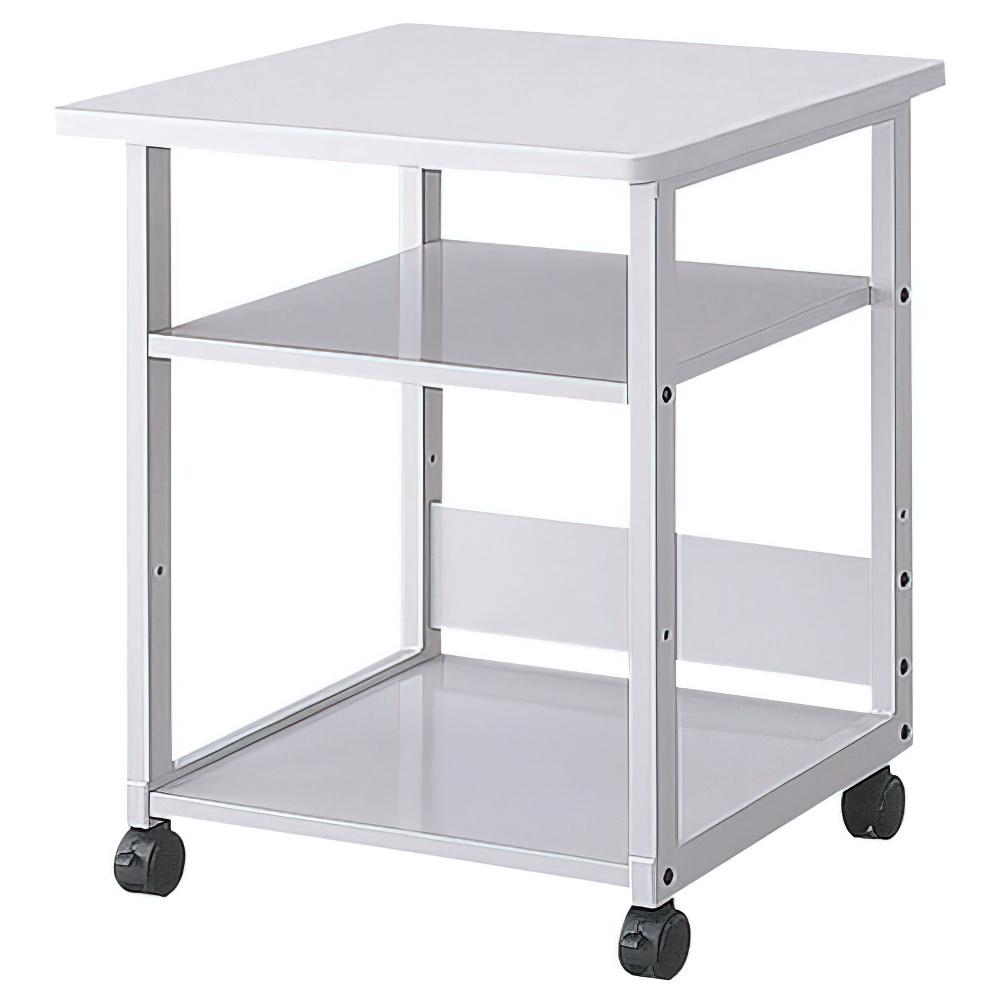 プリンタテーブル ハイタイプ W600×D600×H700mm プリンタ台 プリンタラック ワゴン オフィス家具