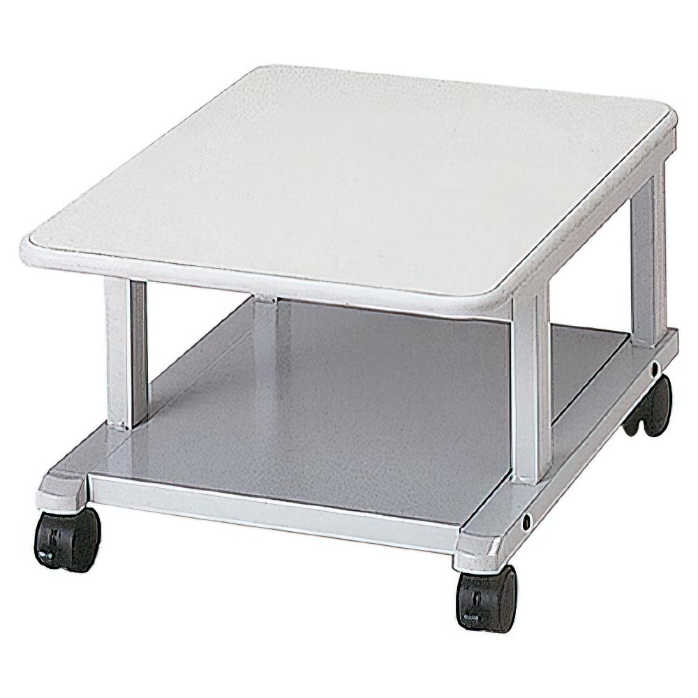 プリンタラック ロータイプ W450×D600×H300mm プリンタ台 プリンタテーブル ワゴン オフィス家具