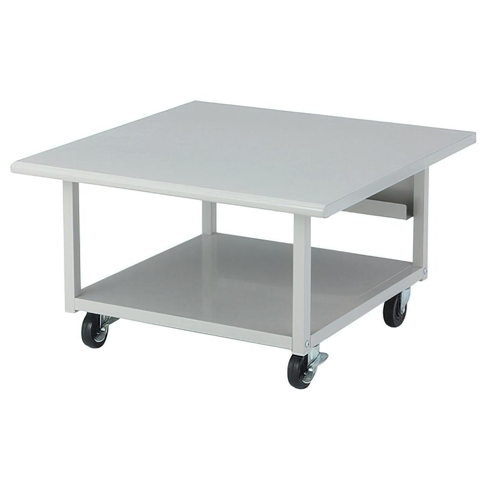 プリンタラック ロータイプ重量型 W700×D700×H400mm プリンタ台 プリンタテーブル ワゴン オフィス家具