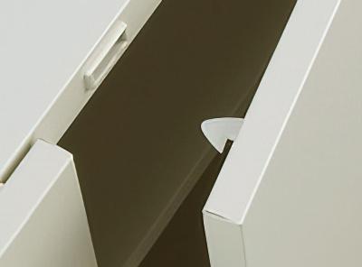 商品説明画像(KG45-21L:両開きロッカー ニューグレー)