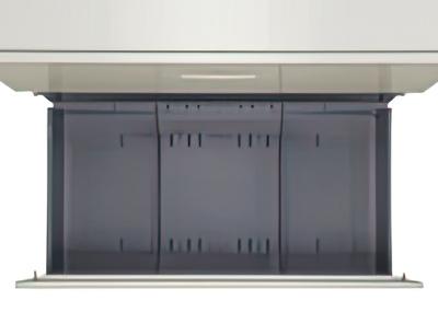 商品説明画像(KG45-207D:2段ラテラルキャビネット ニューグレー)