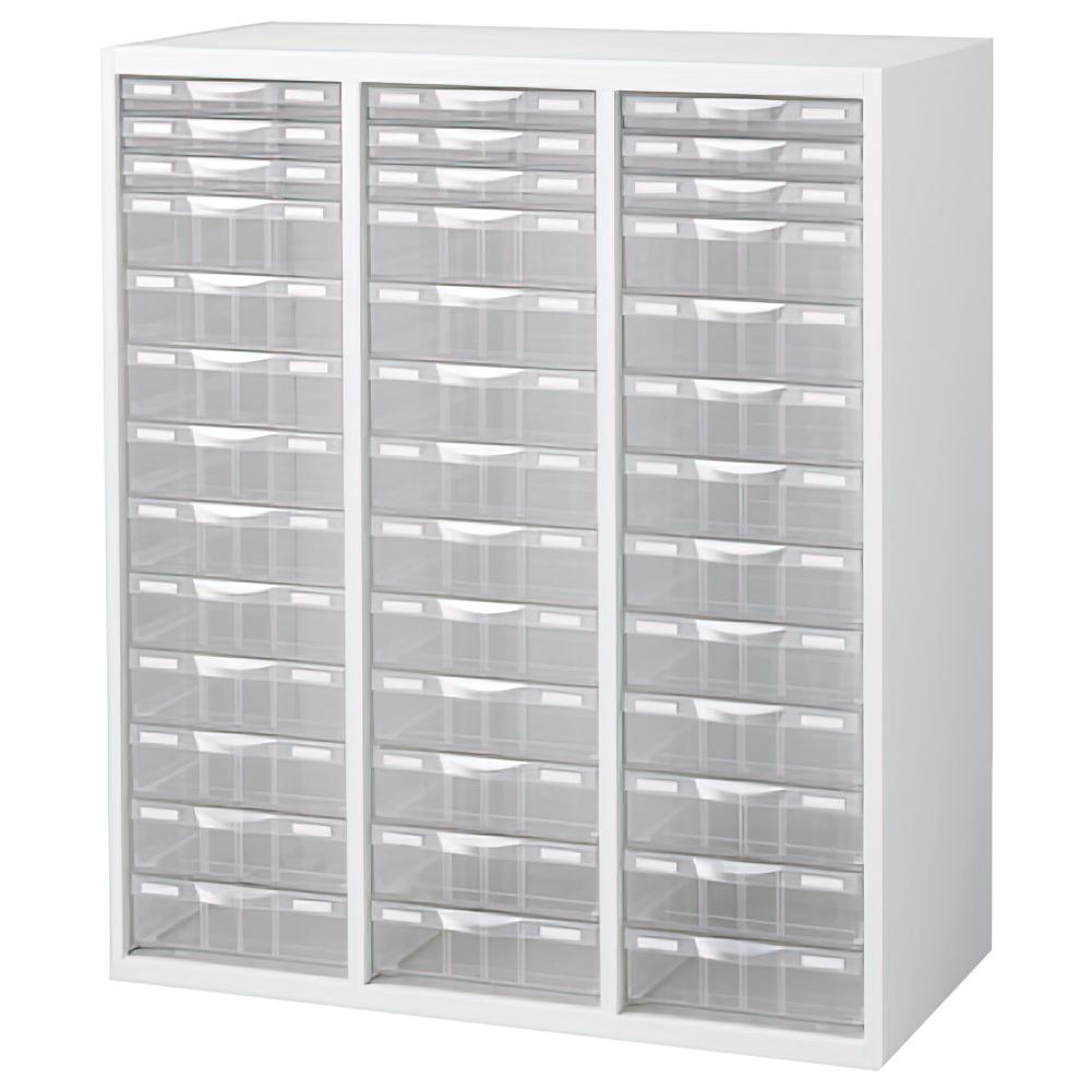 プラスチックキャビネットA ホワイト W900×D450×H1050mm システム収納庫 オフィス収納 オフィス家具