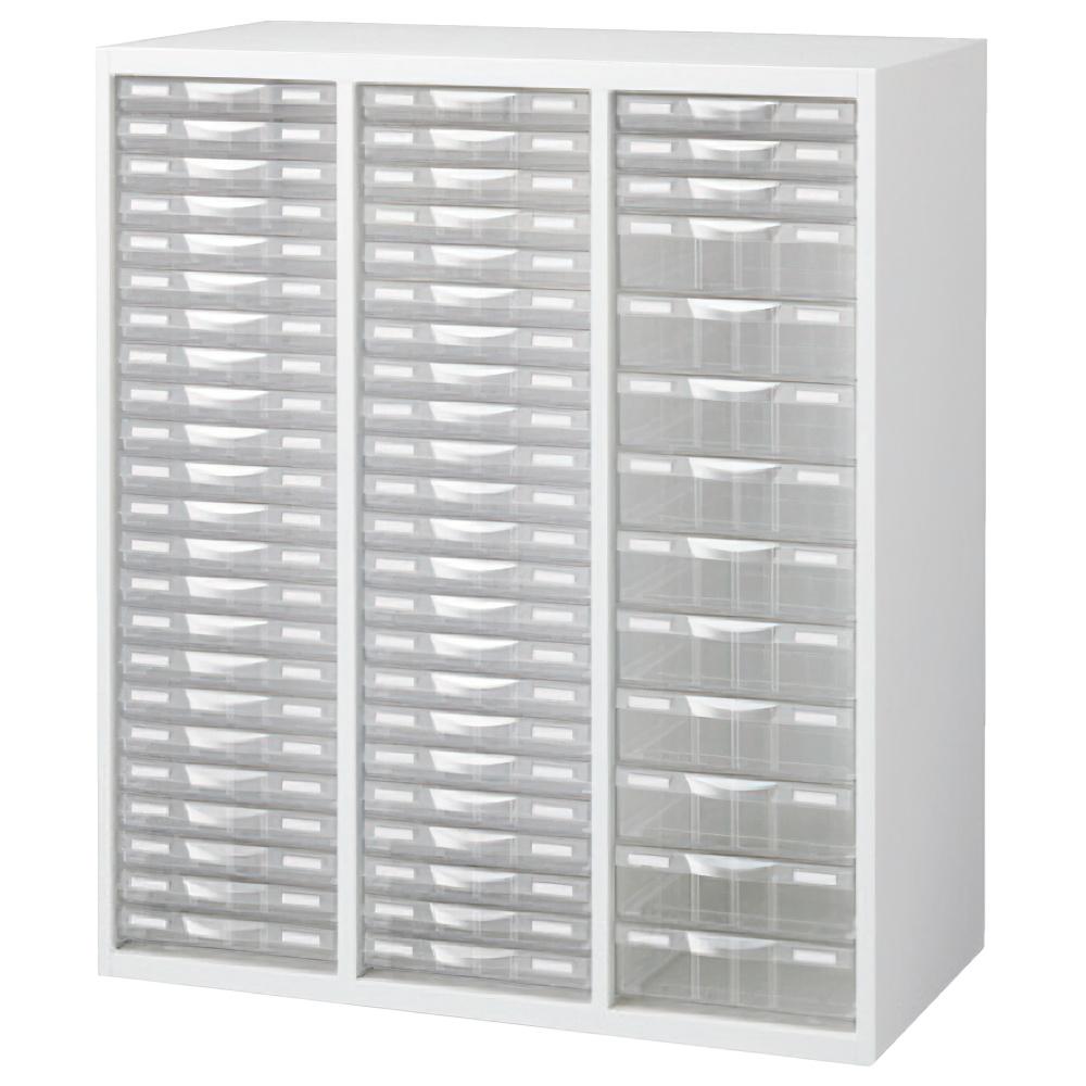 プラスチックキャビネットD ホワイト W900×D450×H1050mm システム収納庫 オフィス収納 オフィス家具