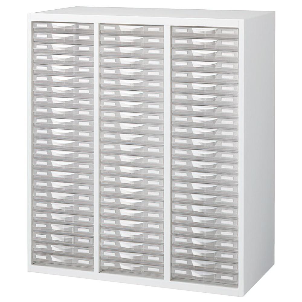 プラスチックキャビネットE ホワイト W900×D450×H1050mm システム収納庫 オフィス収納 オフィス家具