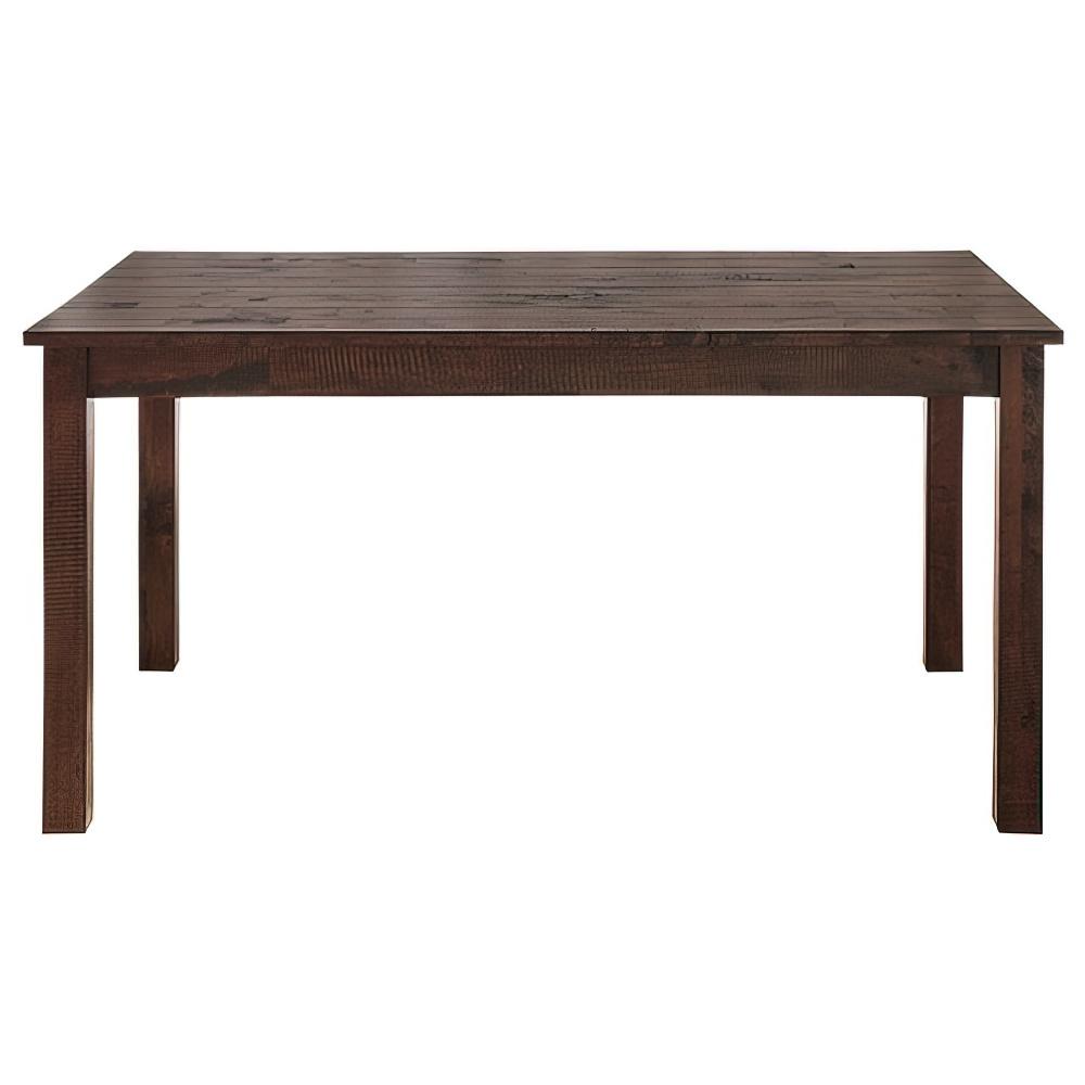 ノスタ ダイニングテーブル W1350×D800×H730mm ミーティングテーブル 会議机 ラウンジテーブル 古木 リフレッシュテーブル オフィス家具