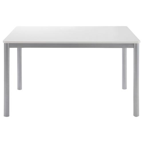 ラスター ダイニングテーブル W1200×D800×H720mm ミーティングテーブル 会議机 ラウンジテーブル ホワイト リフレッシュテーブル オフィス家具