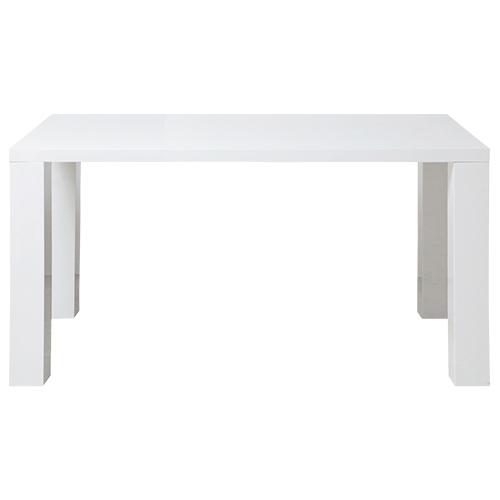 ビアンコ ダイニングテーブル W1400×D800×H730mm ミーティングテーブル 会議机 ラウンジテーブル ホワイト リフレッシュテーブル オフィス家具
