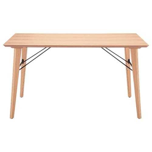 アンテ ダイニングテーブル W1350×D800×H730mm ミーティングテーブル 会議机 ラウンジテーブル ナチュラル リフレッシュテーブル オフィス家具