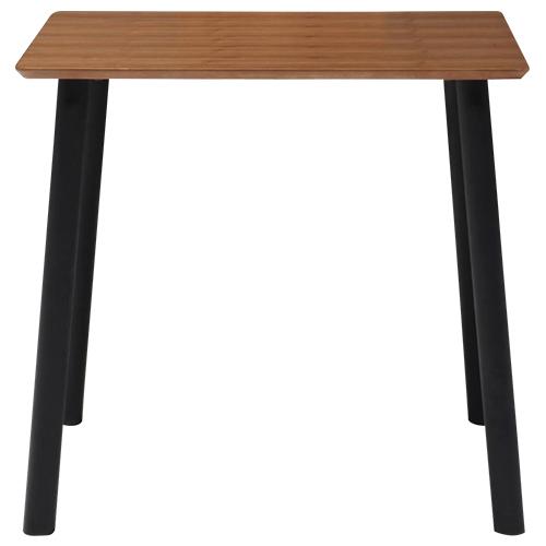 アルビア ダイニングテーブル W800×D800×H700mm ミーティングテーブル 会議机 ラウンジテーブル ナチュラル リフレッシュテーブル オフィス家具