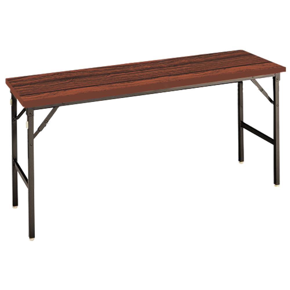 オフィス用クランク式折畳テーブル W1500 D450 H700  その他木目