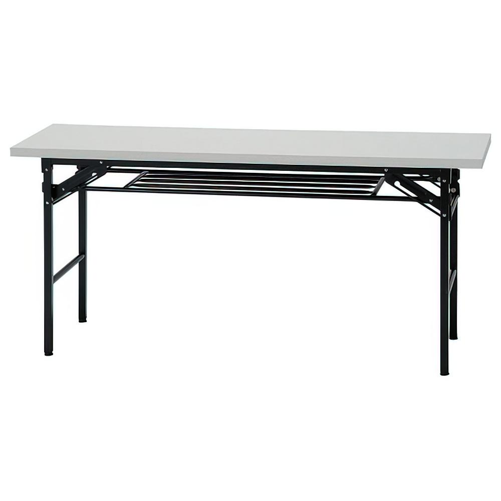 折りたたみテーブル IKシリーズ W1500×D450×H700mm 会議机 長机 ホワイト ミーティングテーブル 会議テーブル オフィス家具